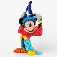 Mickey Mouse als Zauberer - Figur von Disney by BRITTO