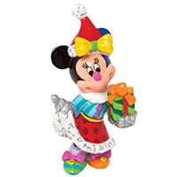 Minifigur -Minnie Mouse mit Geschenk- Disney by BRITTO