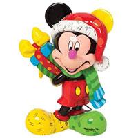 Minifigur -Mickey Mouse mit Geschenk-