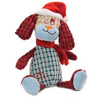 Stoffpuppe - Weihnachtshund