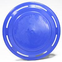 Frisbee blau