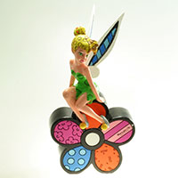 Tinker Bell Sitting - Disney by BRITTO