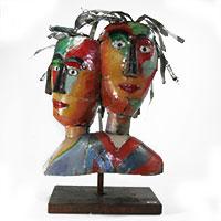 Gilde Metall Skulptur - Wir -