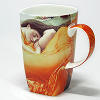 "Design Becher Künstlerkollektion ""Lord Leigh - Flaming June"""