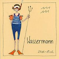 Edition Barbara Freundlieb: Sternzeichen -Wassermann-