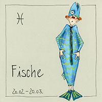 Edition Barbara Freundlieb: Sternzeichen -Fische-