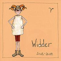 Edition Barbara Freundlieb: Sternzeichen -Widder-