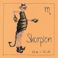 Edition Barbara Freundlieb: Sternzeichen -Skorpion-