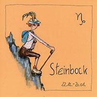 Edition Barbara Freundlieb: Sternzeichen -Steinbock-