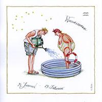 Edition Christina Thrän: Sternzeichen -Wassermann-