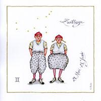 Edition Christina Thrän: Sternzeichen -Zwillinge-