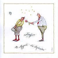 Edition Christina Thrän: Sternzeichen -Jungfrau-