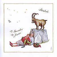 Edition Christina Thrän: Sternzeichen -Steinbock-