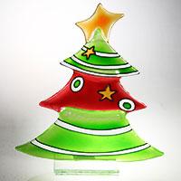 Zauberhafter Weihnachtsbaum aus Glas
