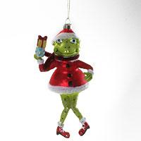 Der etwas andere Christbaumschmuck: die Weihnachtsfroschfrau!