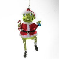 Der etwas andere Christbaumschmuck: der Weihnachtsfroschmann!