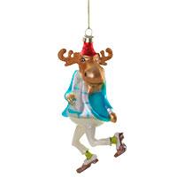 Der etwas andere Christbaumschmuck: Ein Rentier rockt die Weihnacht!