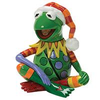Minifigur -Kermit- im Weihnachtsoutfit