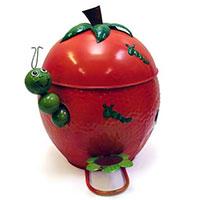 Mülleimer Tomate