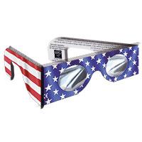 Schutzbrille zur Beobachtung einer Sonnenfinsternis