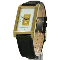 L&G Armbanduhr - Goldbar -