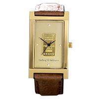 L&G - Goldbar brown leather -