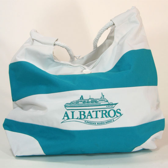 Strandtasche mit dem Schiff Ihrer Wahl